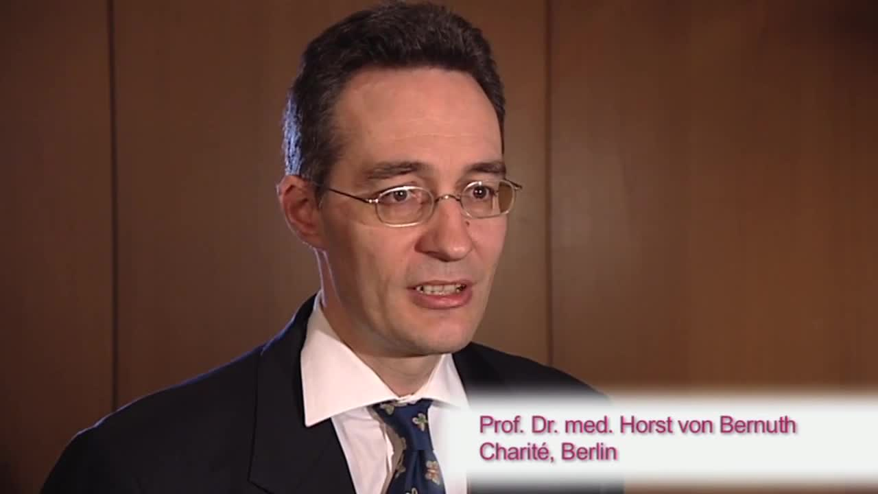 Prof. Dr. med. Horst von Bernuth<br> Charité, Berlin