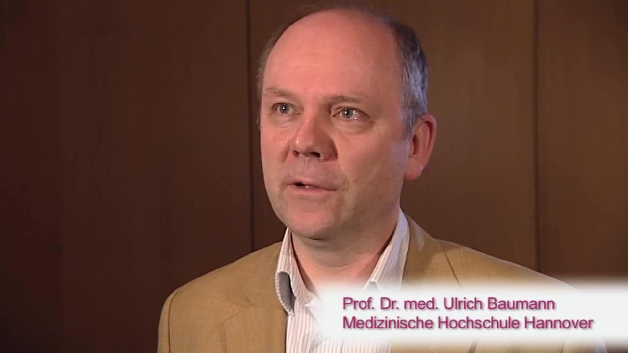 Prof. Dr. med. Ulrich Baumann<br>Medizinische Hochschule Hannover